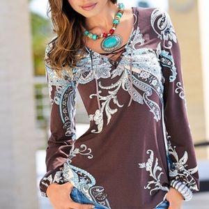 Venus Paisley Shirt